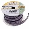 Faux Snake Leather 10x2mm (3m Spool) Purple